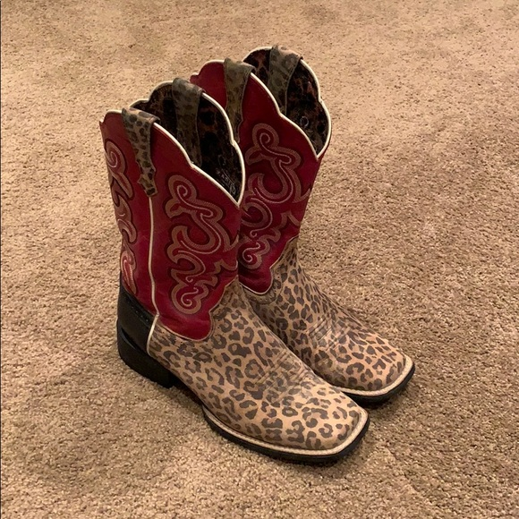 Ariat Shoes   Ariat Leopard Boots